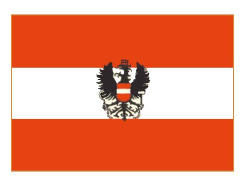 Флаг государственный. Австрия. Австрия.