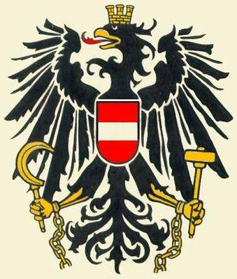 Государственный герб Австрии. Австрия.