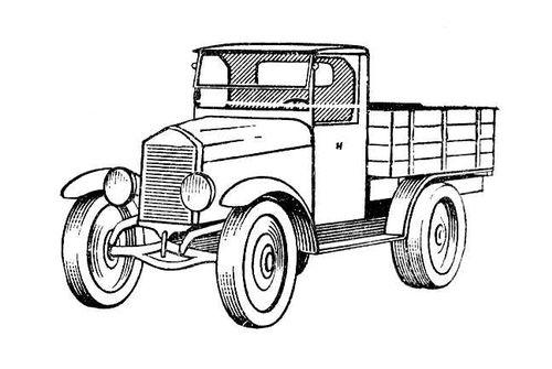 Автомобиль. АМО-Ф15. Автомобиль.