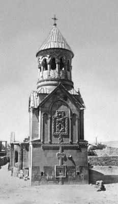 Церковь Аствацацин в Егварде. 1321—28. Армянская Советская Социалистическая Республика.