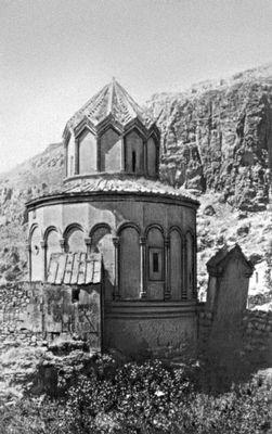 Церковь Саркиса в Хцконке. 1027. Армянская Советская Социалистическая Республика.
