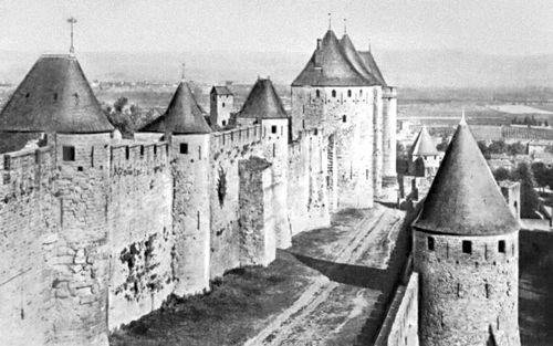 Укрепления г. Каркассонна. Франция. 13 в. Архитектура.