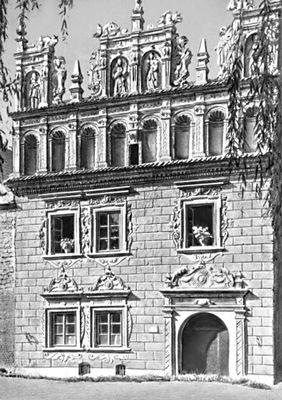 «Дом Целея» в г. Казимеж-Дольны. Польша. Ок. 1635. Архитектура.