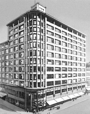 Л. Салливен. Здание фирмы «Карсон-Пири-Скотт» в Чикаго. СШАрхитектура 1899—1900. Архитектура.