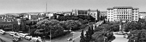 Баку. Коммунистическая улица. Баку.