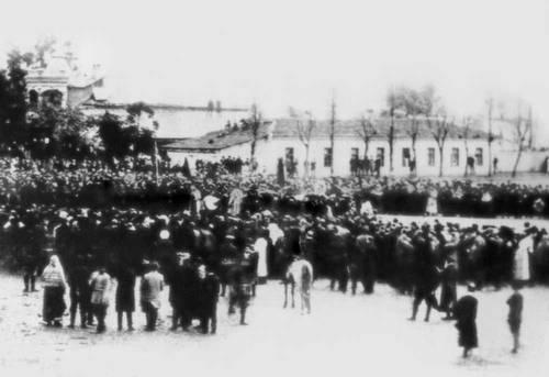 Демонстрация трудящихся Батуми в 1905. Батуми.