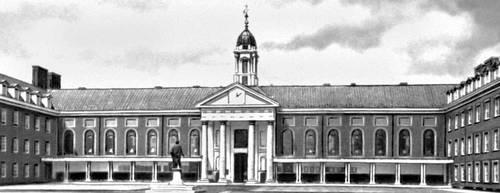 Госпиталь в Челси. Великобритания. 1694, Архитектор К. Рен. Больница.