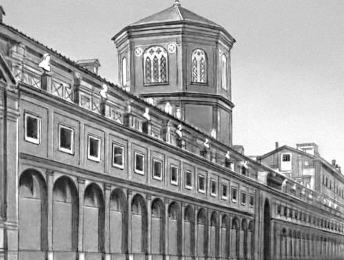 Больница Санто-Спирито в Риме. 1480-е гг. Архитектор Больница Понтелли. Больница.