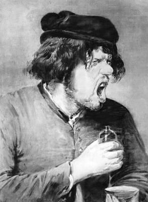 А. Брауэр. «Горький напиток». Штеделевский художественный институт. Франкфурт-на-Майне. Брауэр Адриан.
