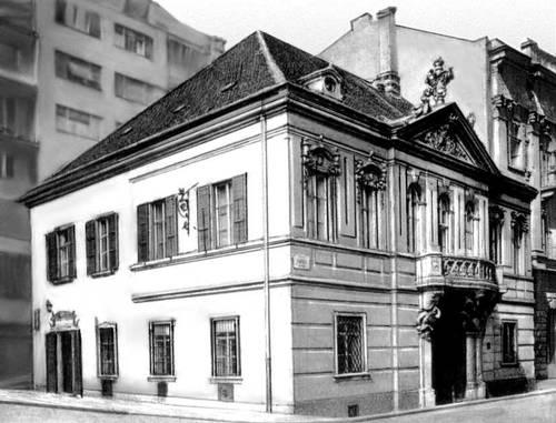 Будапешт. Жилой дом на ул. Пешти Барнабаш. 1765. Архитектор А. Майерхоффер. Будапешт.