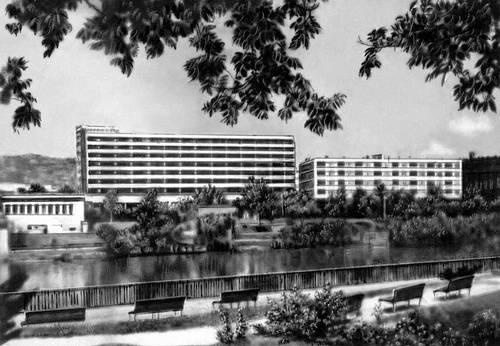 Гостиница «Спорт». 1960-е гг. Архитектор И. Брешка. Будапешт.