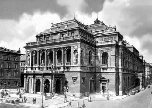 Будапешт. Оперный театр. 1875—84. Архитектор Будапешт Ибль. Будапешт.