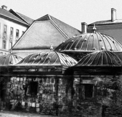 Будапешт. Турецкая баня. 16 в. Будапешт.