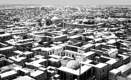 Бухара. Вид на Старый город. Бухара.
