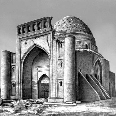 Бухара. Мавзолей Сейфеддина Бохарзи. 13 в., перестроен в 14—15 вв. Бухара.