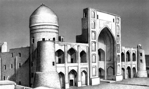 Бухара. Медресе Мири-Араб. 1536. Бухара.