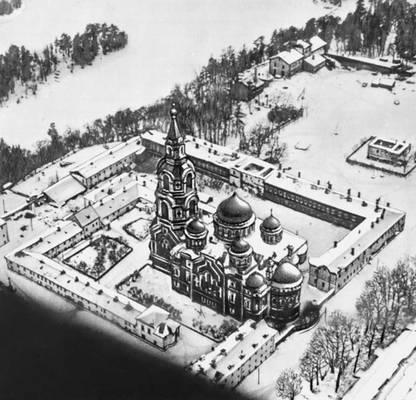 Валаамский (Преображенский) монастырь. Валаамские острова.