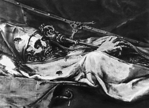Х. де Вальдес Леаль. «Finis gloriae mundi» («Конец земной славы»). Ок. 1674. Капелла братства Ла Каридад. Севилья. Вальдес Фреди.