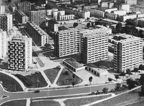 Новое строительство в Праге — одном из районов Варшавы. Варшава.
