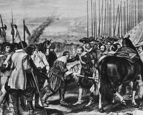 «Сдача Бреды». 1634. Прадо. Мадрид. Веласкес Диего.