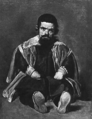 Портрет шута Себастьяна де Морра. Между 1631 и 1648. Прадо. Мадрид. Веласкес Диего.