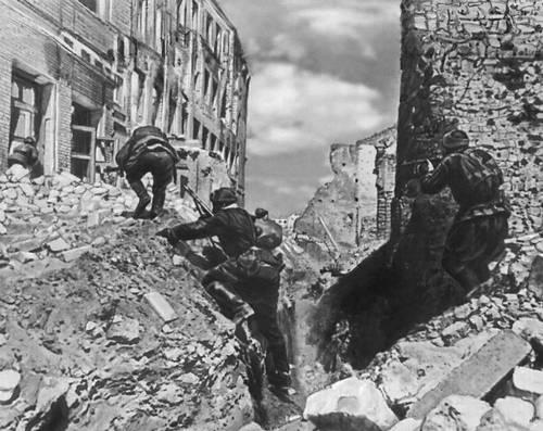 Бои в Сталинграде. Осень 1942. Великая Отечественная война Советского Союза 1941-45.