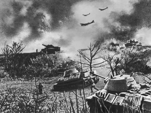 Наступление войск Степного фронта. Август 1943. Великая Отечественная война Советского Союза 1941-45.
