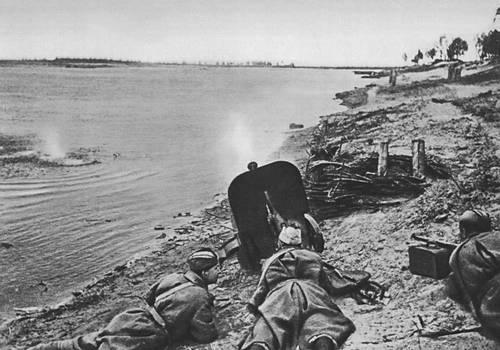 Бой за Днепр. 1943. Великая Отечественная война Советского Союза 1941-45.