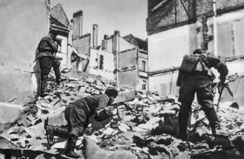 Бои в Берлине. Апрель 1945. Великая Отечественная война Советского Союза 1941-45.