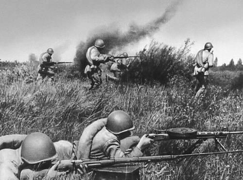 Бой под Орлом. Июль 1943. Великая Отечественная война Советского Союза 1941-45.