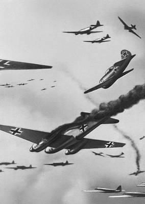 Воздушный бой. Великая Отечественная война Советского Союза 1941-45.