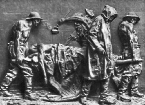 Веризм Вела. Рельеф «Жертва труда». Бронза. 1883. Национальная галерея современного искусства. Рим. Веризм.