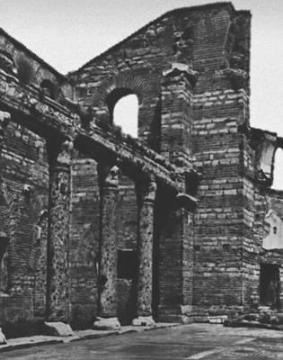 Византия. Базилика св. Иоанна Студита в Константинополе. 5 в. Византия.