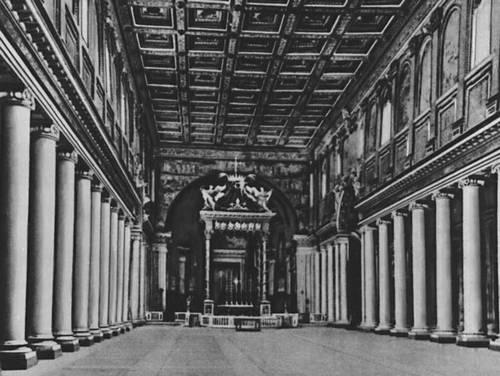 Византия. Базилика Санта-Мария Маджоре в Риме. 432—440. Византия.