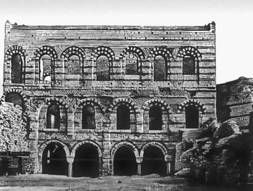 Византия. Дворец Текфур-серай в Константинополе. 14 в. Византия.