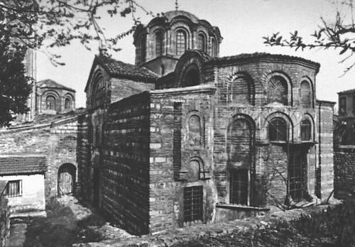 Византия. Церковь св. Федора (Килисе-Джами) в Константинополе. 2–я пол. 11—14 вв. Византия.