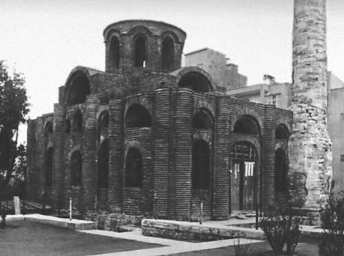 Византия. Церковь Мирелейон (Будрум-Джами) в Константинополе. 1-я пол. 10 в. Византия.
