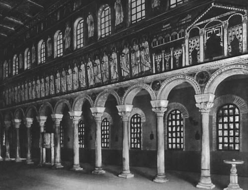 Византия. Базилика Сант-Аполлинаре Нуово в Равенне. Начало 6 в. Византия.