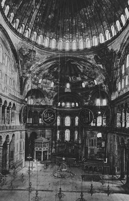 Византия. Анфимий из Тралл и Исидор из Милета. Храм св. Софии в Константинополе. 532—537. Византия.