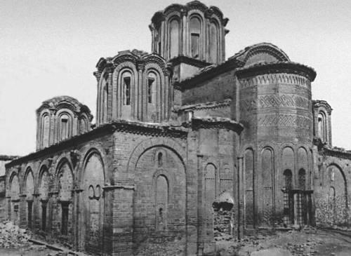 Церковь Апостолов в Салониках. 1312—15. Византия.