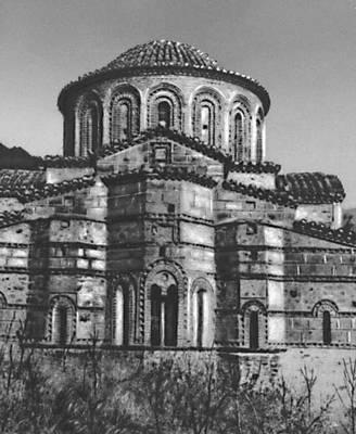 Византия. Церковь св. Федора в Мистре. 2-я пол. 3 в. Византия.