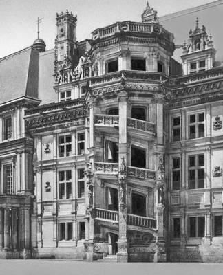 Лестница замка в Блуа (Франция). Ок. 1519. Возрождение (Ренессанс).