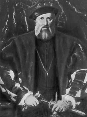 Х. Хольбейн Младший. Портрет Моретта. Ок. 1536. Картинная галерея. Дрезден. Возрождение (Ренессанс).