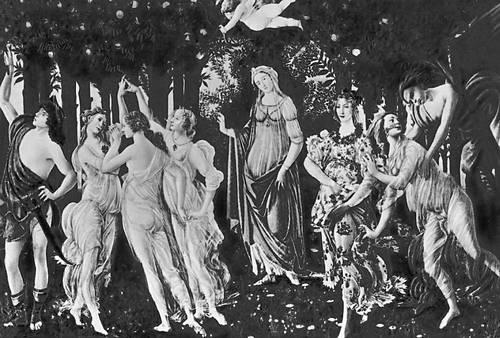 Сандро Боттичелли. «Весна». Ок. 1477—78. Галерея Уффици. Флоренция. Возрождение (Ренессанс).