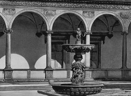 Дж. Спацио и др. Летний дворец Бельведер в Праге. 1536—60. Возрождение (Ренессанс).