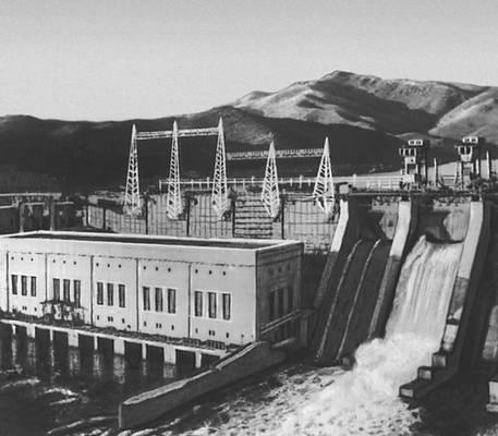 Усть-Каменогорская ГЭС. Восточно-Казахстанская область.