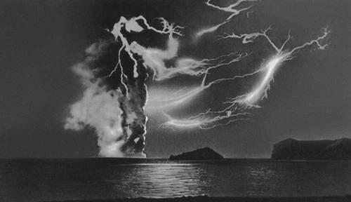 Вулканы. Подводный тип извержения (вулкан Сюртсей близ острова Исландия). Вулкан.