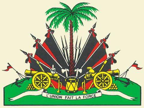 Государственный герб Гаити. Гаити (Республика Гаити).