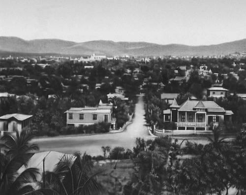 Порт-о-Пренс. Вид части города. Гаити (Республика Гаити).