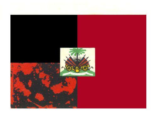 Гаити. Флаг государственный Гаити (Республика Гаити).